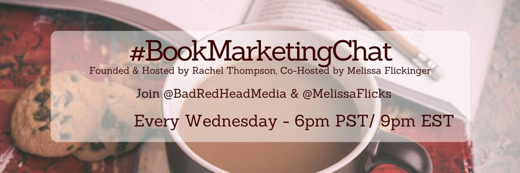 book marketing chat, #BookMarketingChat