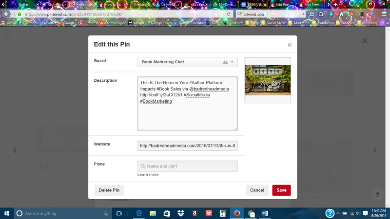 How to use Pinterest for branding and marketing, Pinterest, social media, BadRedhead Media, @BadRedheadMedia