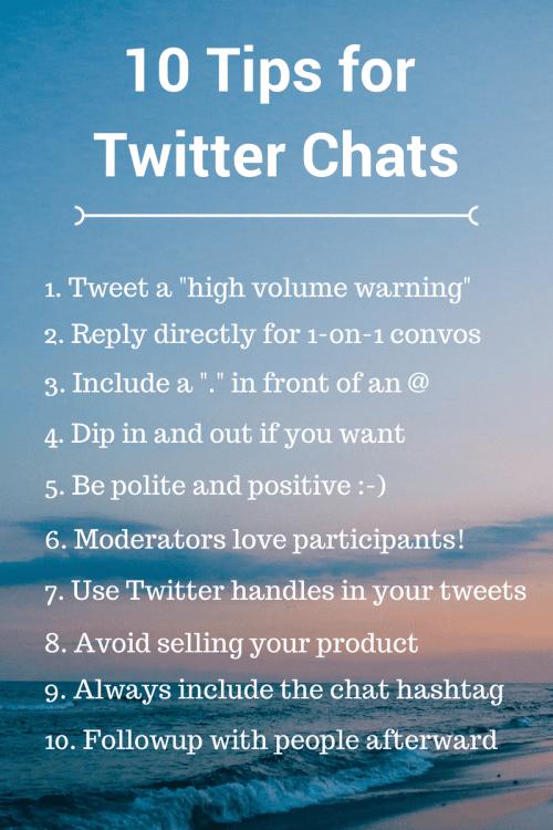 10-Tips-for-Twitter-Chats via Buffer BadRedhead Media @BufferChat @BadRedheadMedia