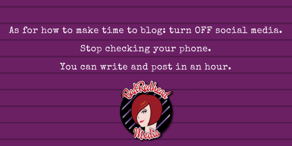 Do You Need To Blog? What Authors Need to Know Now, Rachel Thompson, BadRedhead Media, @BadRedheadMedia, blogging
