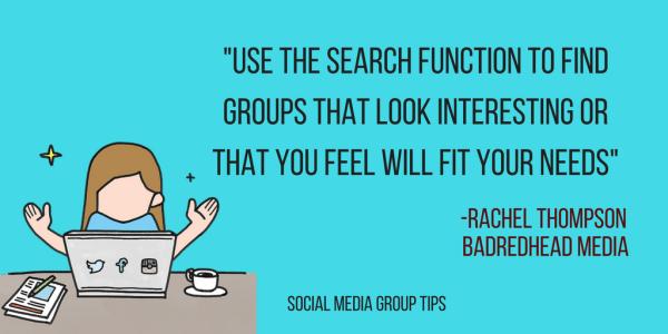 What Social Media Groups Are and How to Use Them, BadRedheadMedia.com, @BadRedheadMedia