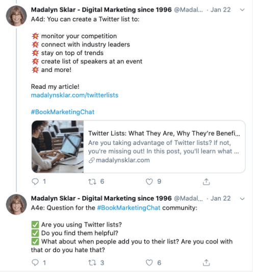 How to Rock Your Twitter Marketing in 2020 with @MadalynSklar #TwitterMarketing #twitter #marketing