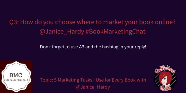5 Marketing Tasks To Use For Every Book With @Janice_Hardy via @BadRedheadMedia #Marketing #Books #WritingCommunity
