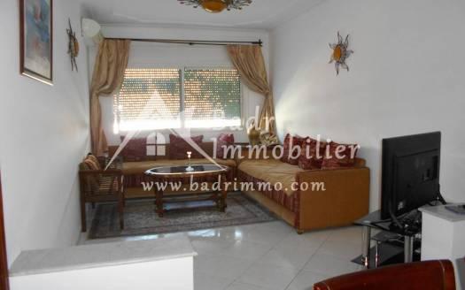 Appartement meublé à louer à l'Agdal