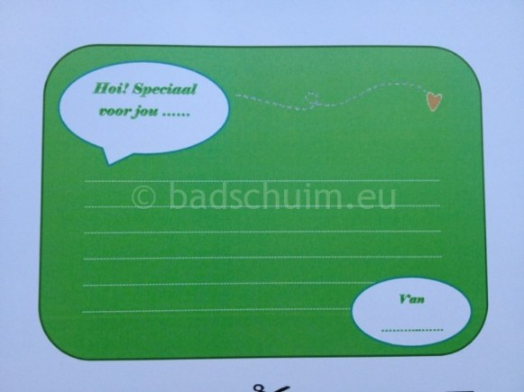 Glimlachbriefjes per dag kleur groen_blog badschuim.eu