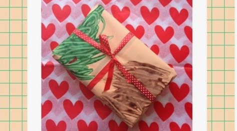 Inpakpapier knutselen I Creatief Lifestyle blog Badschuim
