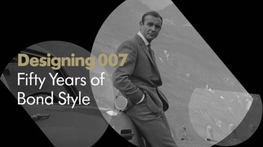 Designing 007: 50 jaar Bond Style.