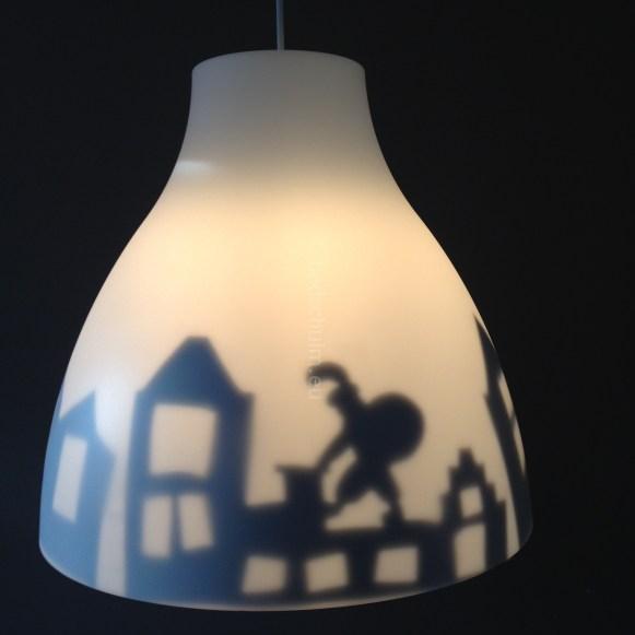 Sinterklaas lamp