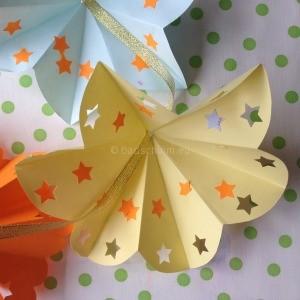 afscheid kinderdagverblijf papieren bloemen afscheid