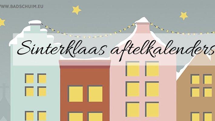 Sinterklaas aftelkalender - de 9 leukste kan je hier vinden op www.badschuim.eu