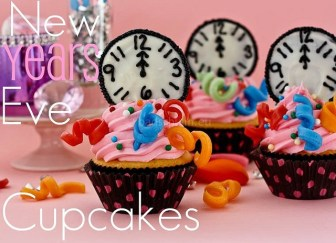 Cupcakes voor oud & nieuw_