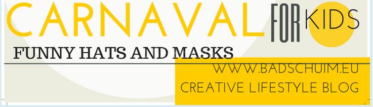 Carnaval: funny hats & masks