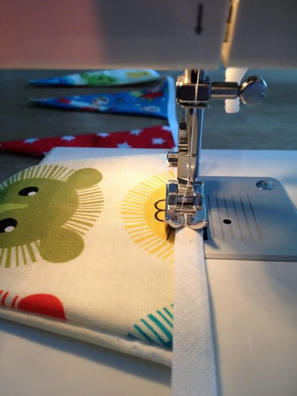 Geboorteslingen DIY zelf maken I Creatief lifestyle blog Badschuim