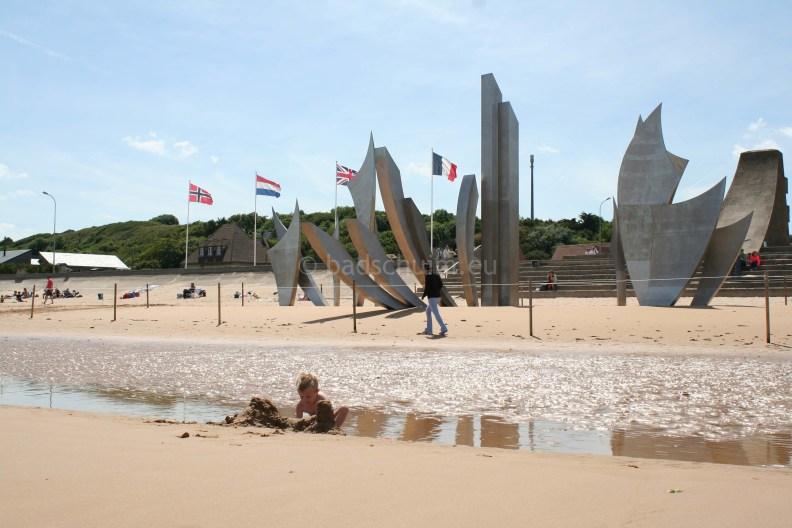 Invasie stranden Frankrijk Omaha beach 01 I een vakantieverslag van creatief lifestyle blog Badschuim