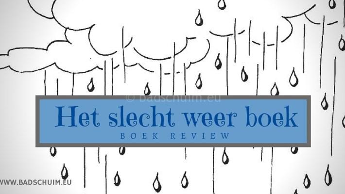 Het slecht weer boek I review door creatief lifestyle blog Badschuim
