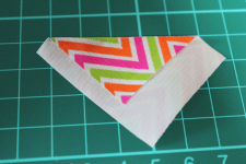 Washi tape bloem diy
