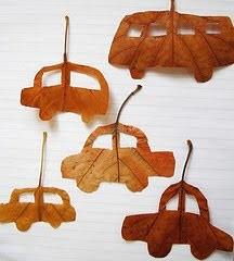herfst knutselideeen bladeren uitsnijden in vormpjes 01 I creatief lifestyle blog Badschuim