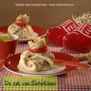 De zak van Sinterklaas - Koekie eitje traktatie tips I te vinden op het het creatief lifestyle blog Badschuim