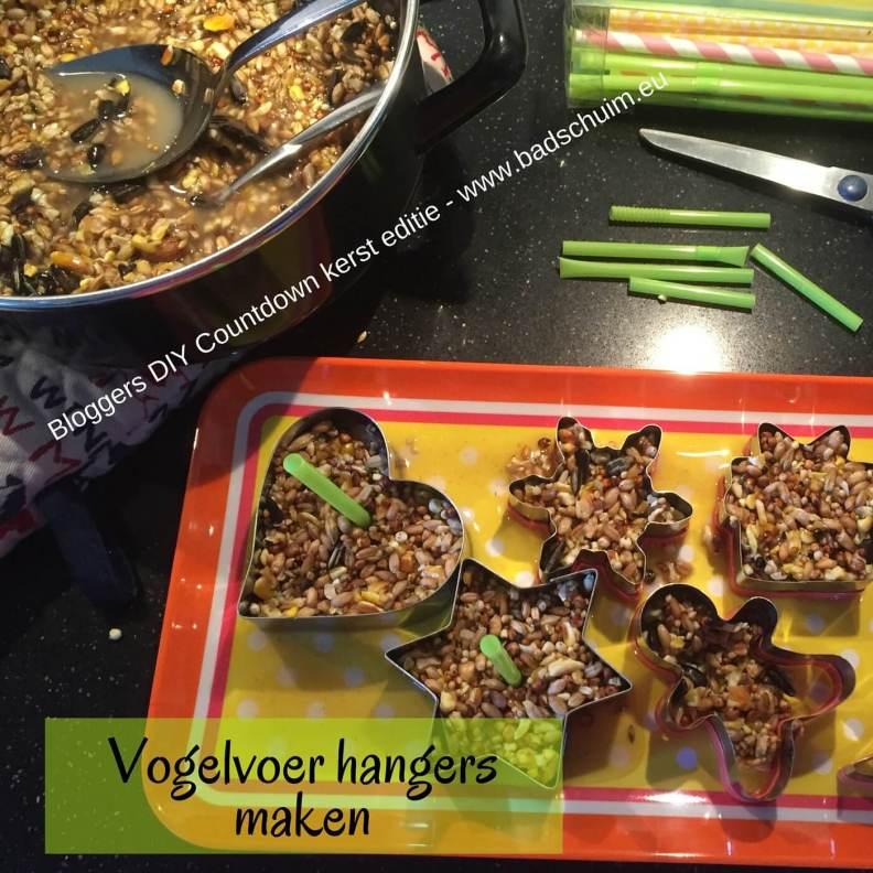 Vogelvoer hangers maken - stap 2 - Bloggers DIY Countdown kerst editie I gemaakt door het creatief lifestyle blog www.badschuim.eu
