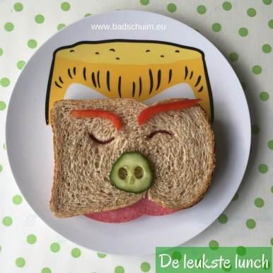 De leukste lunch review en winactie - te vinden op het creatief lifestyle blog www.badschuim.eu