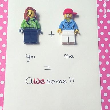 valentijns kaartjes zelf maken - te vinden op het creatief lifestyle blog www.badschuim.eu