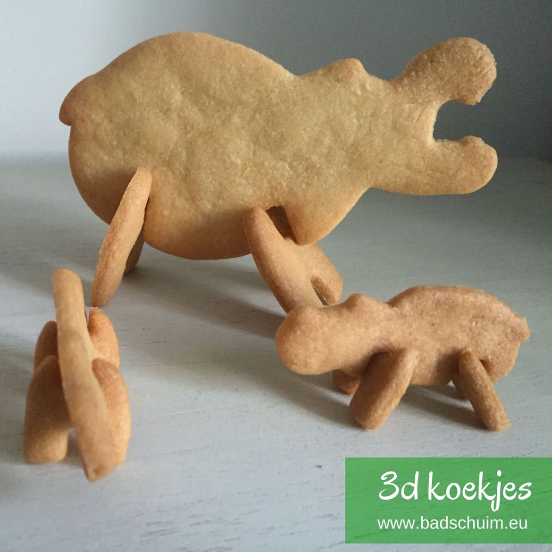 3d koekjes, uitstsekers, koekjes uitstekers, koekjes bakken, koekjes trakteren, trakteren, traktatie