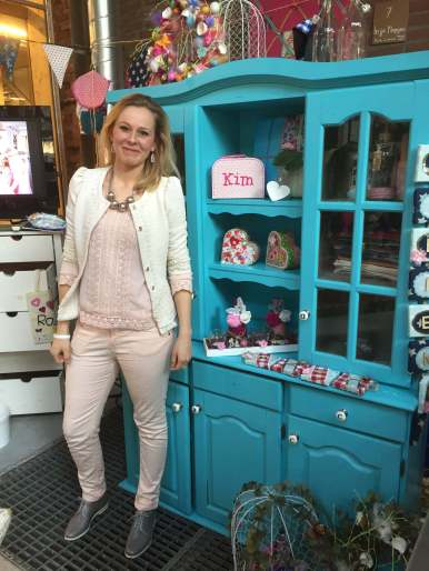 Kim Lindemand van In je nopjes - op het feel good shop event