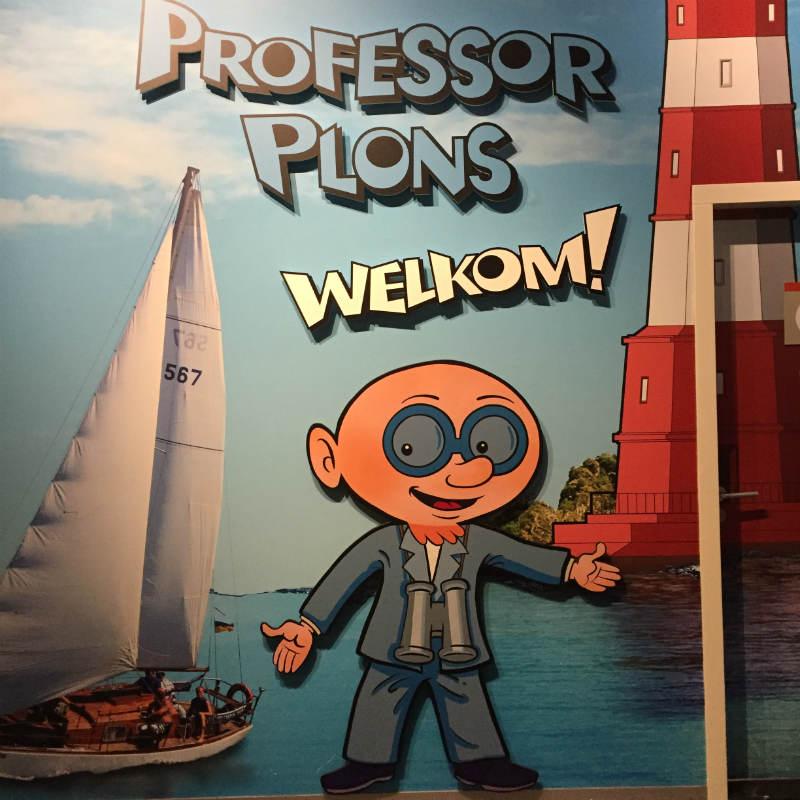 Dagje Maritiem Museum Rotterdam - Professor Plons tentoonstelling 00