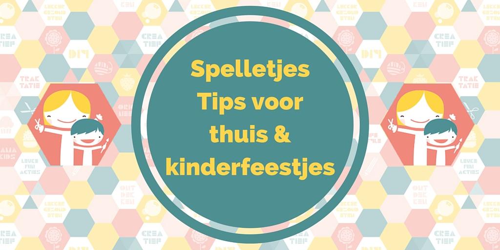 Spelletjes tips voor thuis & kinderfeestjes