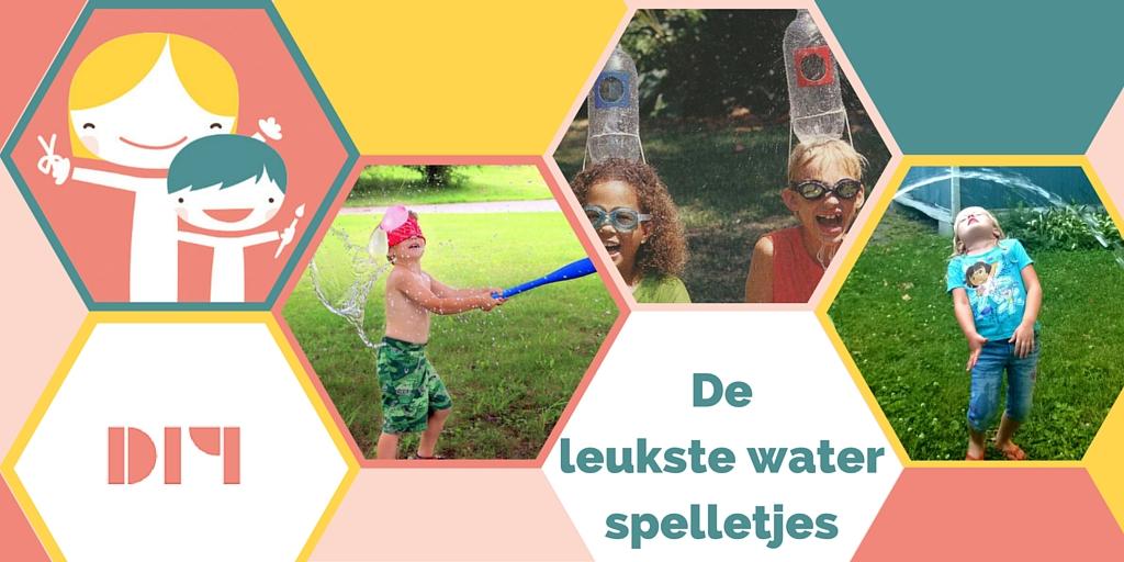 De leukste waterspelletjes voor je kids!