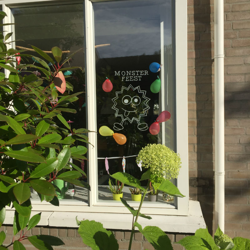 monster feest, kinderfeest monsters, monsters feest, verjaardag monsters,