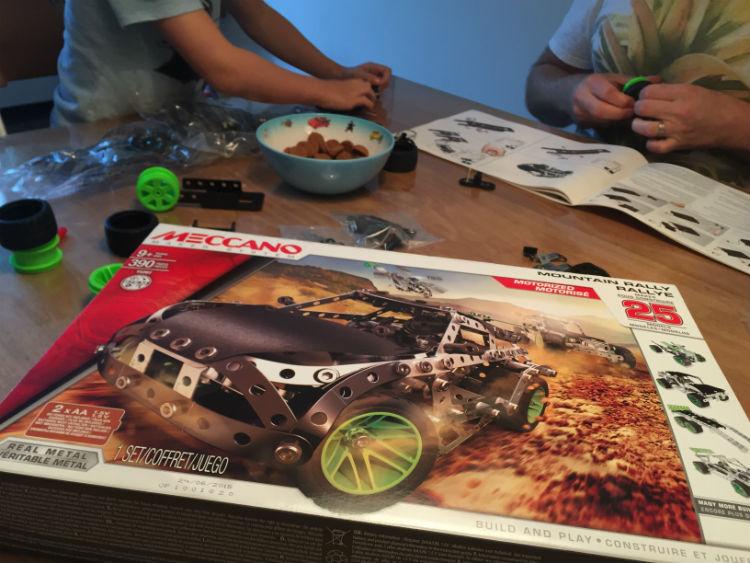 Meccano bergrallyset - speelgoed review