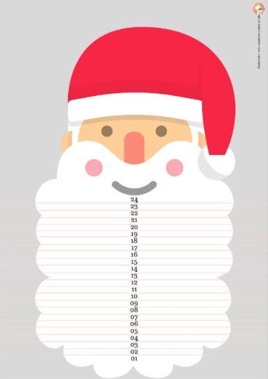 Aftelkalender naar Kerst