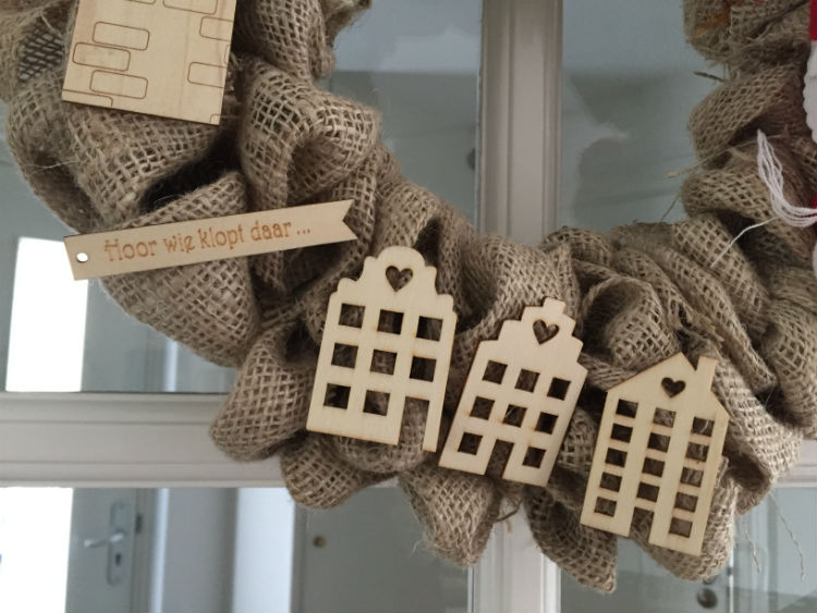 Sinterklaas krans zelf maken - Sint DIY