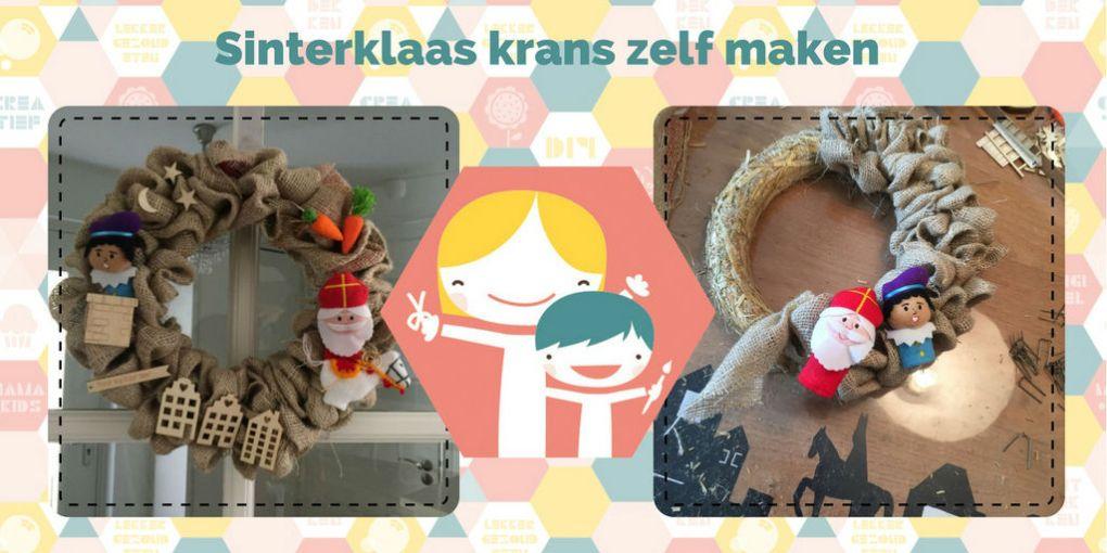 Sinterklaas krans zelf maken – Sint DIY
