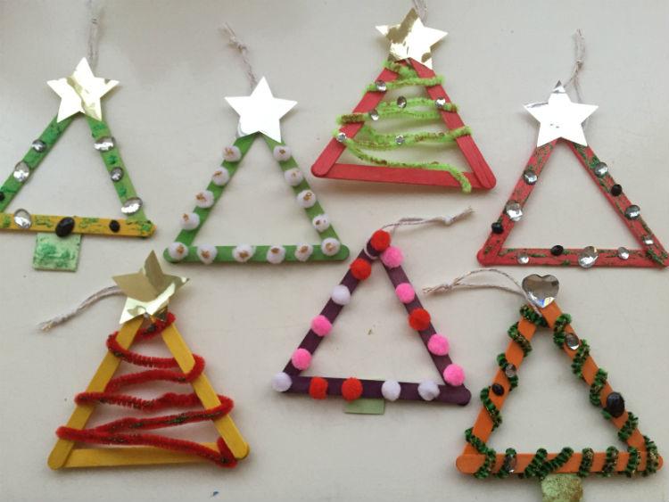 DIY Kerstkaart - hippe kerstkaart zelf maken
