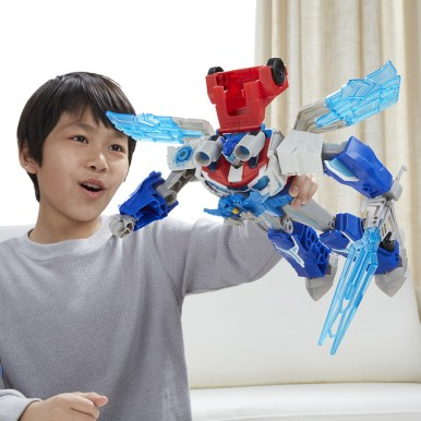 Transformers Power Surge Optimus Primeer