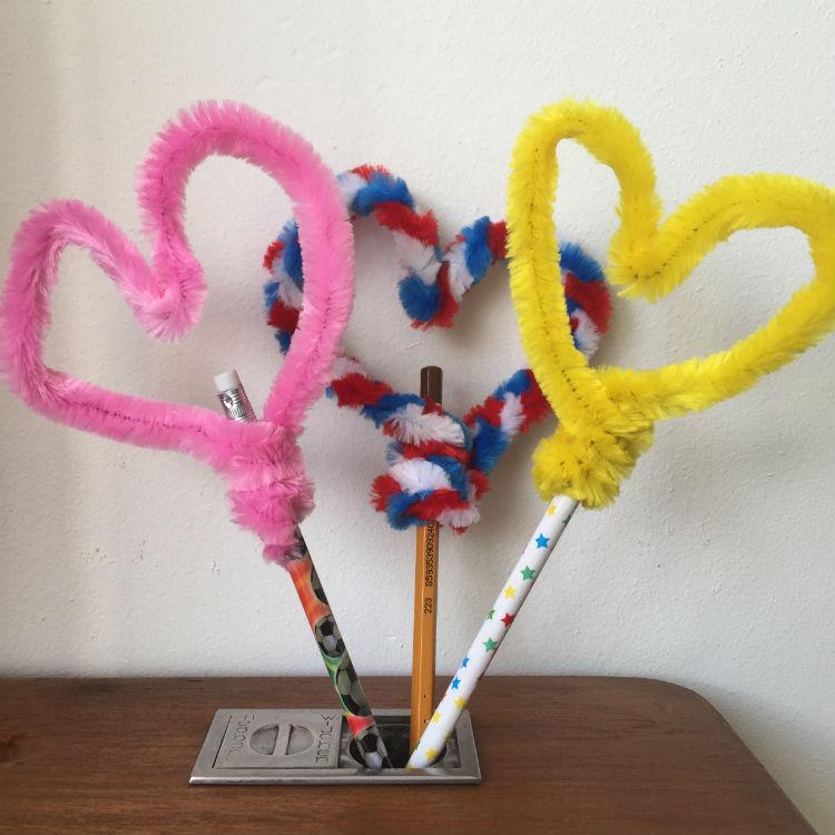 DIY Hartjes pen - Makkelijke & leuke DIY voor Valentijn