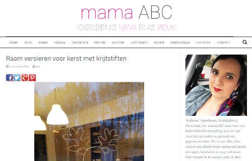 In de media webshop krijtstifttekening mama ABC - 2016-12-14