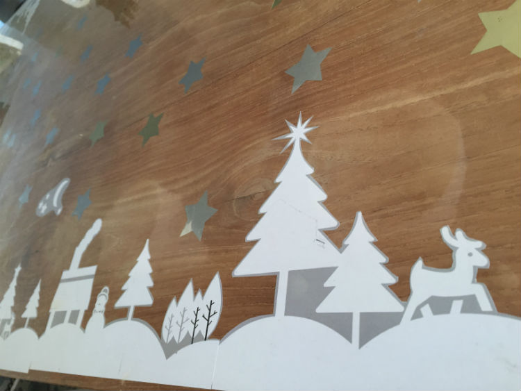 Winter wonderland tafel - DIY winter tafeldecoratie