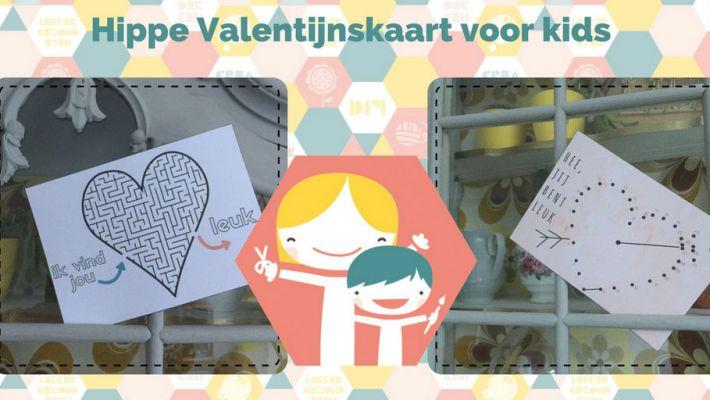 Leuke valentijnskaart voor kinderen - knutselen voor Valentijn