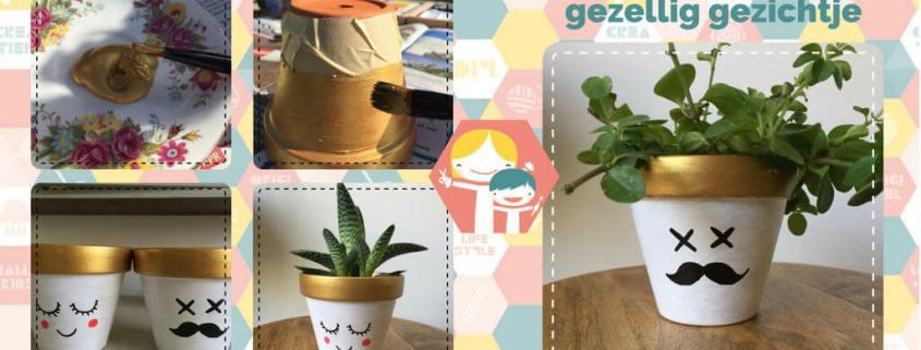Terracotta bloempotjes verven - pimp je bloempot DIY_10