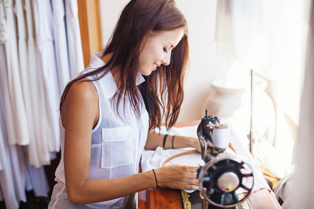 Hobbykamer inrichten als naaikamer