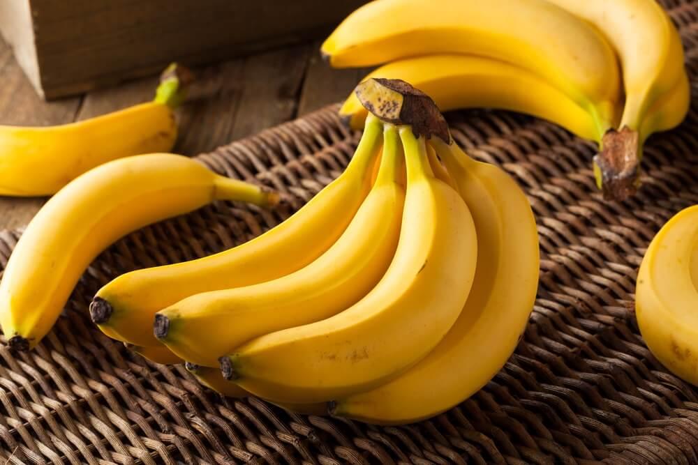 Houd bananen aan een tros