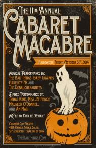 11th Annual Cabaret Macabre - October 2014