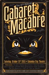 12th Annual Cabaret Macabre - October 2015