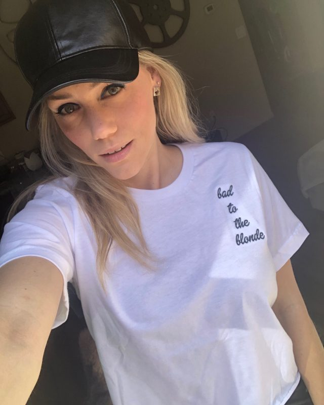 blonde barbie tee