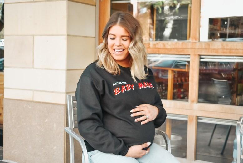 baby mama sweatshirt