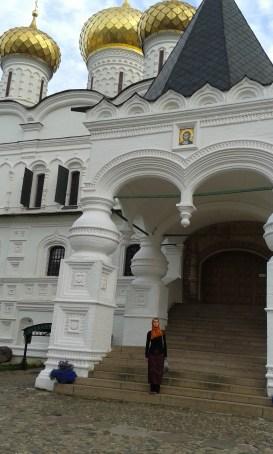 getting stylish again in St Ipaty Monastery