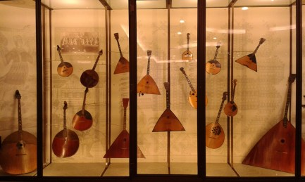 instruments represented in the National Russian Orchestra